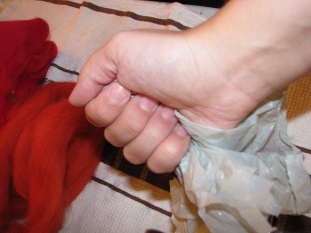 Натуральні прикраси на ялинку своїми руками - крок6