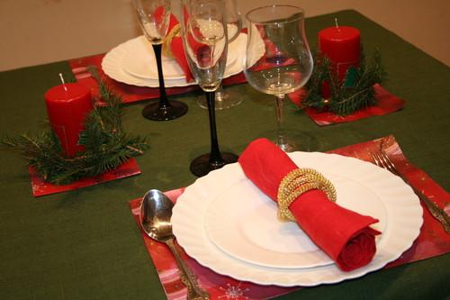 Новорічний романтичний стіл