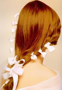 Святкова новорічна зачіска 2011 року