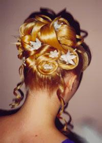 Новорічна святкова зачіска на 2011 рік
