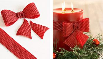 Свічки, стрічки та інша новорічна мішура