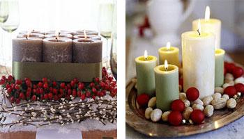 Стрічки, свічки та інша новорічна мішура