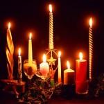 Новорічні свічники