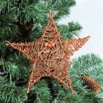 Плетені прикраси на новорічну ялинку