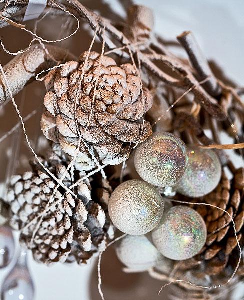 Різдвяний вінок на Новий рік