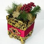 Скриньки з новорічним декором