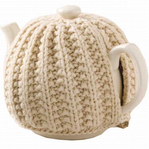 В'язаний светр для чайника - 2