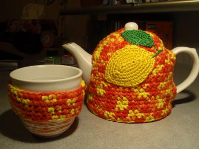 В'язаний светр для чайника
