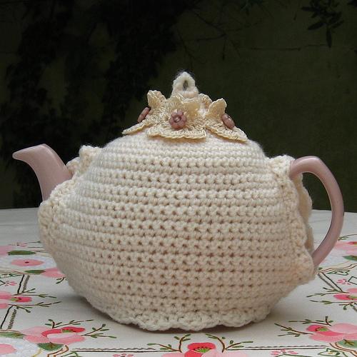 В'язаний светр для чайника - 14