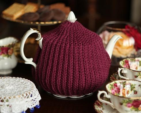 В'язаний светр для чайника - 10