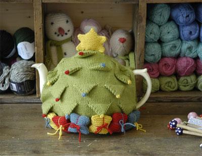 В'язаний светр для чайника - 11