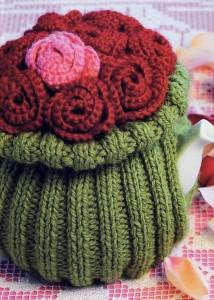В'язаний светр для чайника - 12