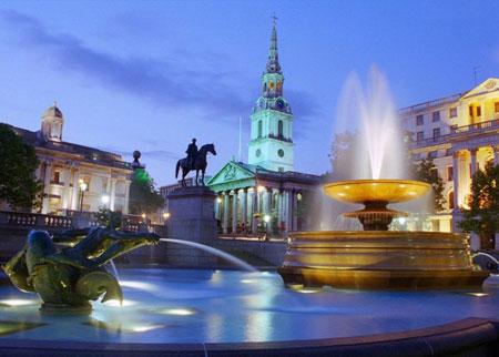 Трафальгарська площа в Лондоні