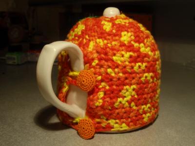 В'язаний светр для чайника - крок6