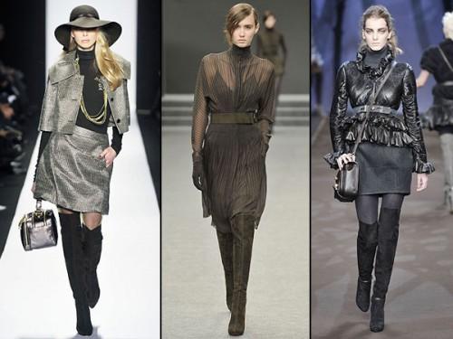 Зимові ботфорти 2011: як носити і з чим поєднувати?