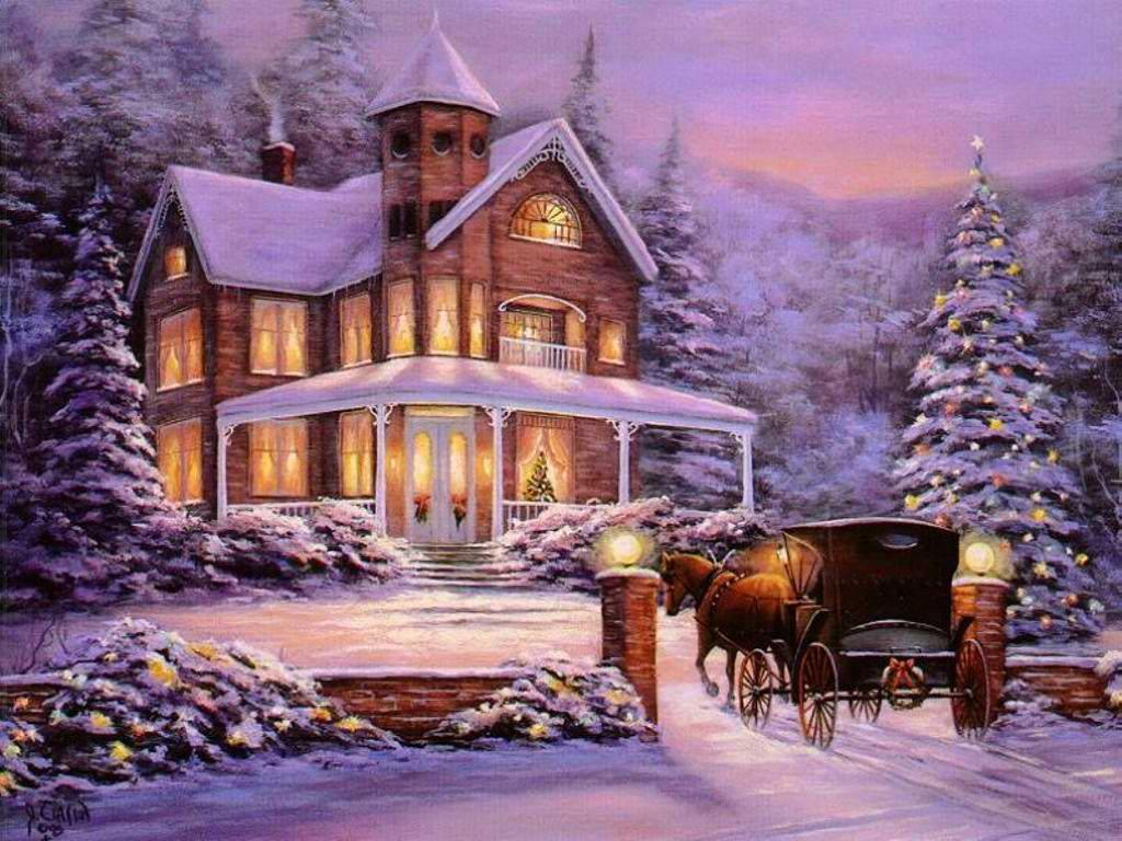 Різдвяні листівки 18
