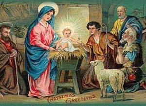 Різдвяні листівки 19