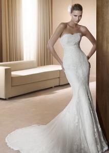 Модні весільні плаття 2011 - 19