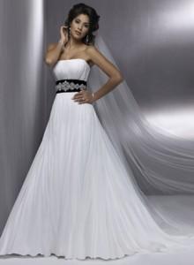 Модні весільні плаття 2011 - 26