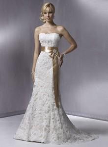 Модні весільні плаття 2011 - 3