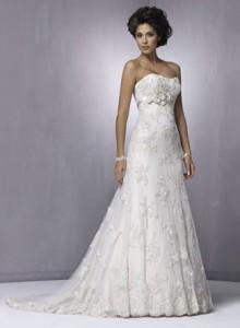 Модні весільні плаття 2011 - 30