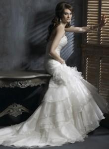 Модні весільні плаття 2011 - 4