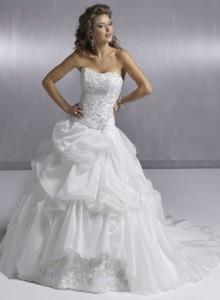 Модні весільні плаття 2011 - 41