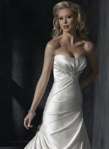 Модні весільні плаття 2011 - 6