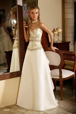 Модні весільні сукні 2011 11