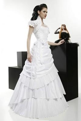 Модні весільні сукні 2011-13