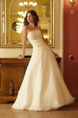 Модні весільні сукні 2011-6
