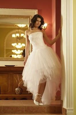 Модні весільні сукні 2011-7