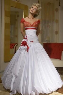 Модні весільні сукні 2011-8