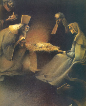 Різдвяні листівки 14