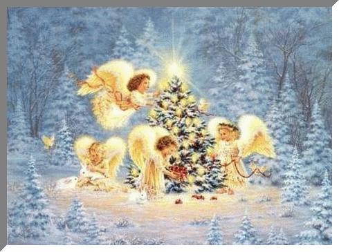 Різдвяні листівки 15