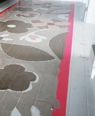 Розпис підлоги - крок 3