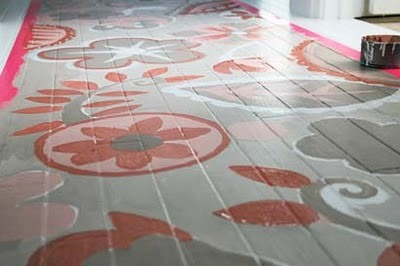 Розпис підлоги - крок 5