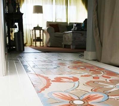Розпис підлоги - крок 7