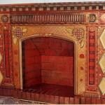 Ручний розпис меблів і тканини Пем Marwede