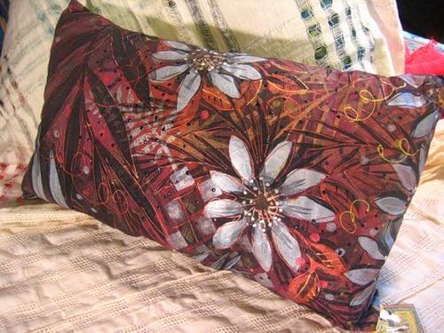 Ручний розпис тканини від Пем Marwede