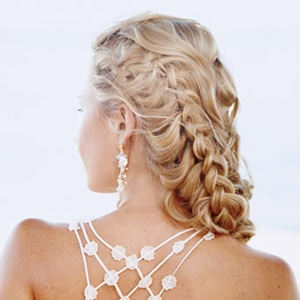 Модні вечірні зачіски 2011 для довгого