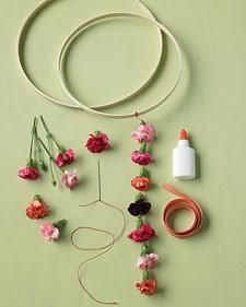 Матеріали для декору з квітів