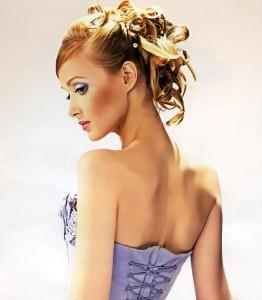 Вечірні зачіски 2011-46