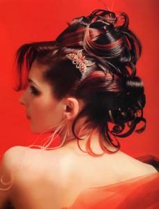 Вечірні зачіски 2011-45