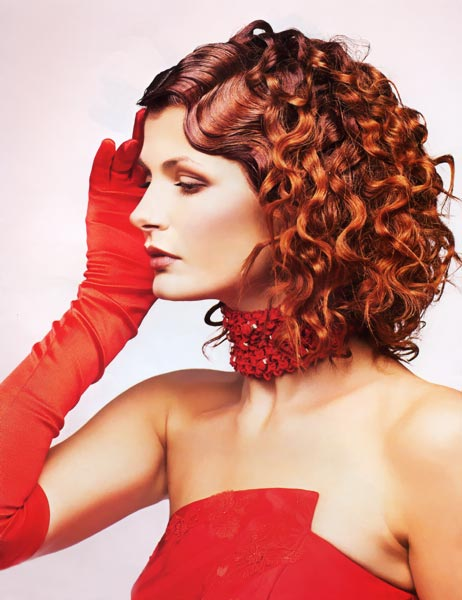 Вечірні зачіски 2011-24