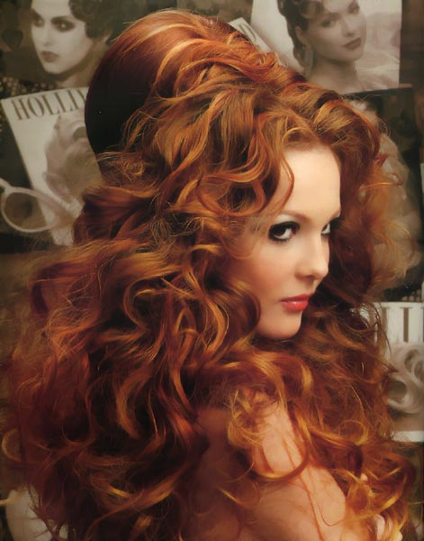 Вечірні зачіски 2011-7