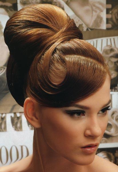 Вечірні зачіски 2011 - 3
