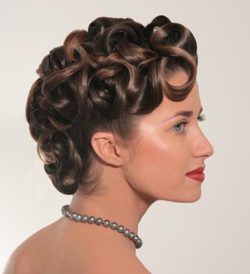 Вечірні зачіски 2011-22