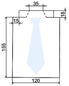 Листівка для чоловіків - схема