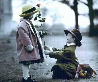 Освідчення в коханні на день Святого Валентина